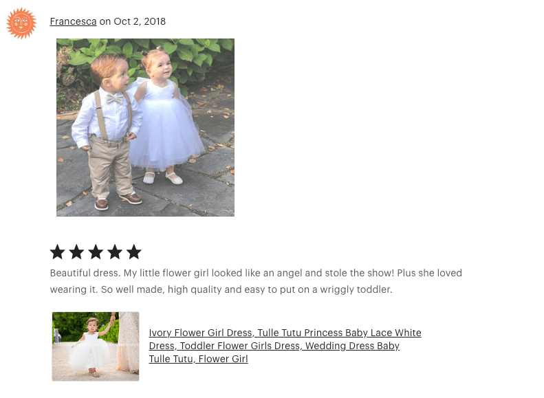 Gorgeous wedding flower girl dresses