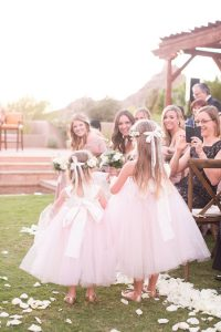 Navy and Pink Chic Desert Wedding OliviaKateCouture WeddingChicks