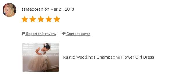 OliviaKate.com Champagne Flower Girl Dresses
